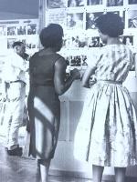 Recruitment exhibition at Netherne Hospital c1955