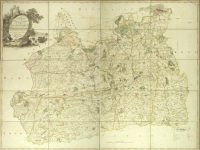 Lindley and Crosley map of Surrey 1793 (SHC ref M/577)