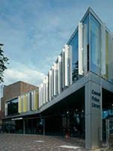 Addlestone Library exterior
