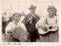 Gypsies at the Epsom Derby 1888
