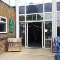 Camberley Library exterior