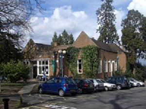 Esher Library exterior