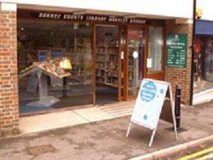 Horsley Library entrance
