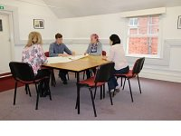 Leatherhead Library room in use