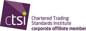 We are a Chartered Trading Standards Institute affiliated corporate member