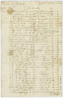 More Place, Betchworth: an 1827 nursery order (8677/1)