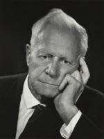 Photograph of Sir Barnes Wallis 1967 (NPG x 15123) thumbnail