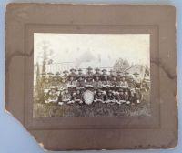 A damaged photograph