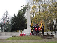 Ashley Road War Memorial Remembrance Ceremony