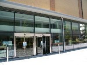 Woking Library entrance