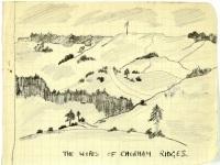 Sketch of the Chobham Ridges