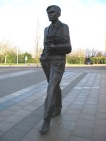 Turing statue Guildford