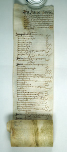 Inventory of the goods of the late Sir George More, 1633 (SHC Ref LM/1105)
