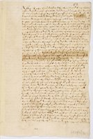 Letter from the Privy Council to William More, 1 March 1569, ordering the arrest of 'Egyptians'. Taken from the Loseley letters (SHC ref 6729/11/52)