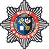Emblem for the Surrey Fire and Rescue Service