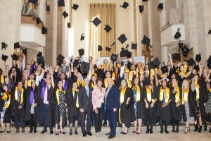 Surrey Adult Learning Apprentices graduating