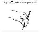 There is another pen hold to consider
