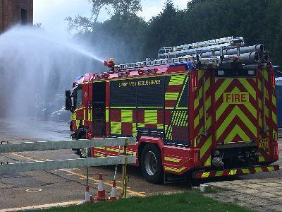 Surrey fire engine