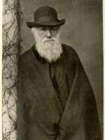 Portrait photograph of Charles Darwin in 1881