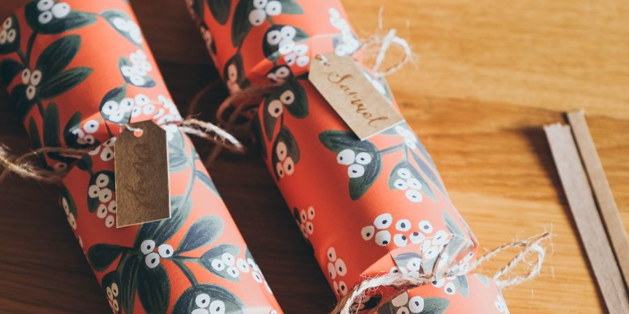 Christmas wrapping paper