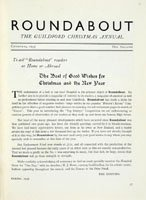 Roundabout Editor's Letter