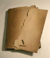 Brittle paper