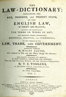 Jacob's Law Dictionary