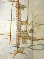 Map of Guildford in 1617, SHC ref G111/2/3