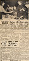 Camberley News and Bagshot Observer', 11 December 1959 published this heartwarming account of Father Christmas's visit to the 1st Lightwater Guides bazaar
