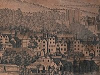Original copper-plates of the South West Prospect of Guildford, engraved by John Harris (SHC ref: BR/OC/2/6/6-8)