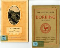 Town guides to Caterham and Dorking