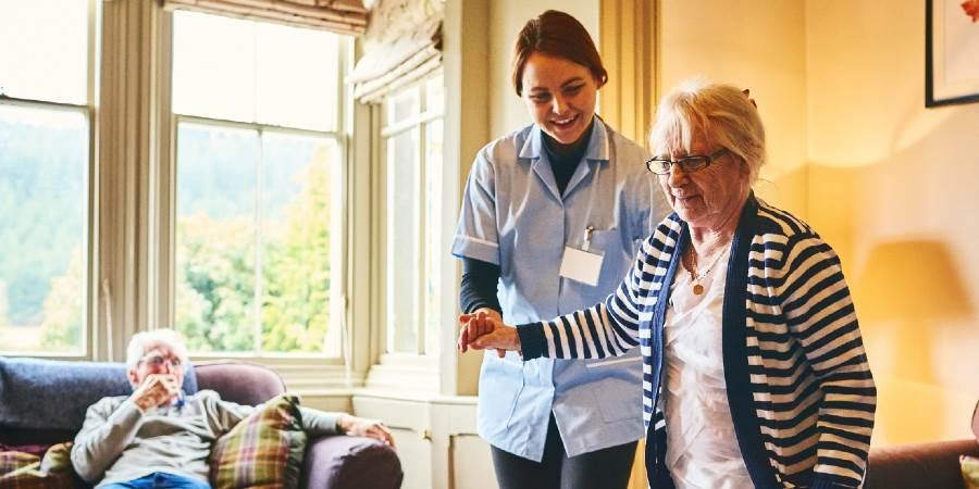 Be a care worker