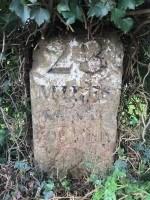 South Godstone milestone front