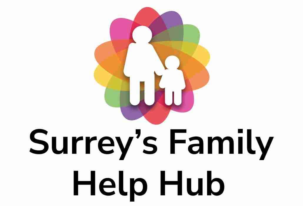 Surrey's family help hub logo