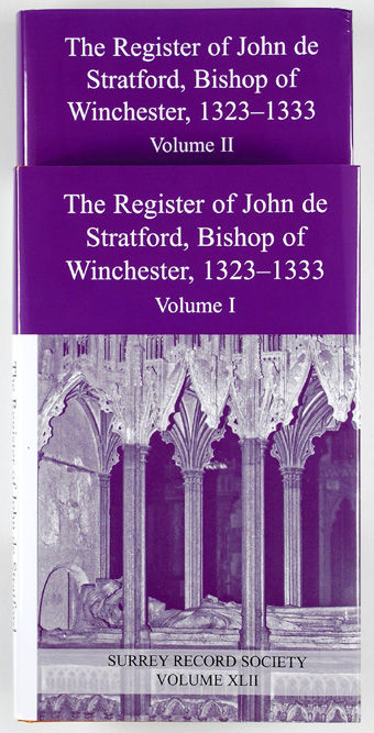 Register of John de Stratford, Bishop of Winchester, 1323-1333