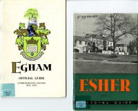 Town guides to Esher and Egham