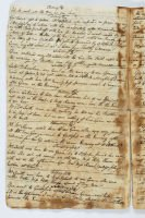 Diary extract 1795